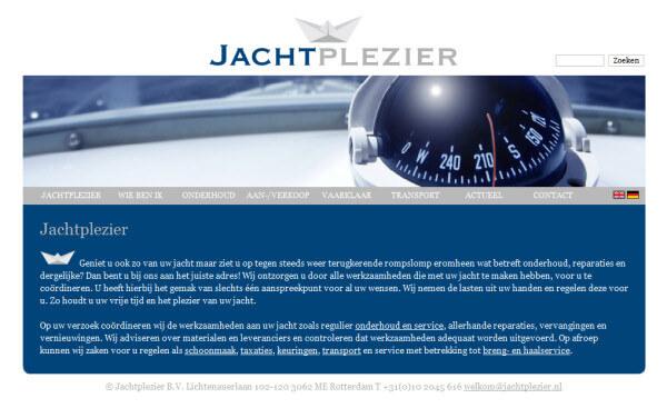 www.jachtplezier.nl + CMSimple
